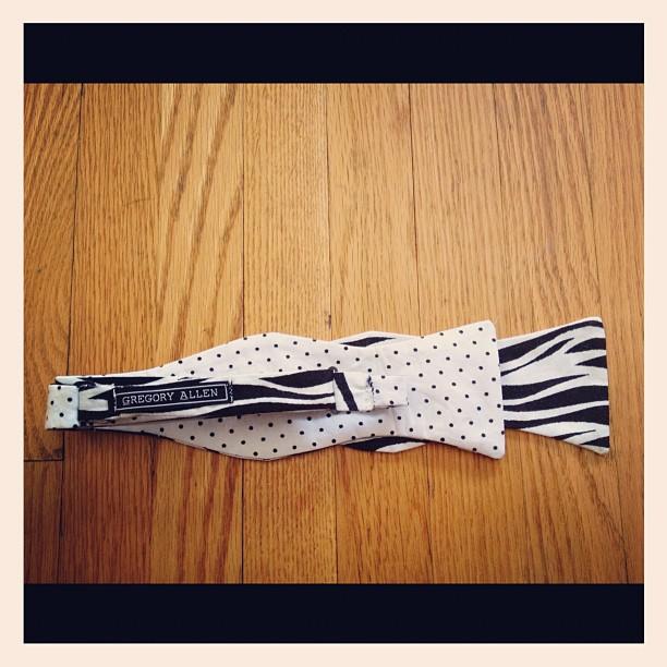 GAC polkadots / zebra print now tie . – via Instagram