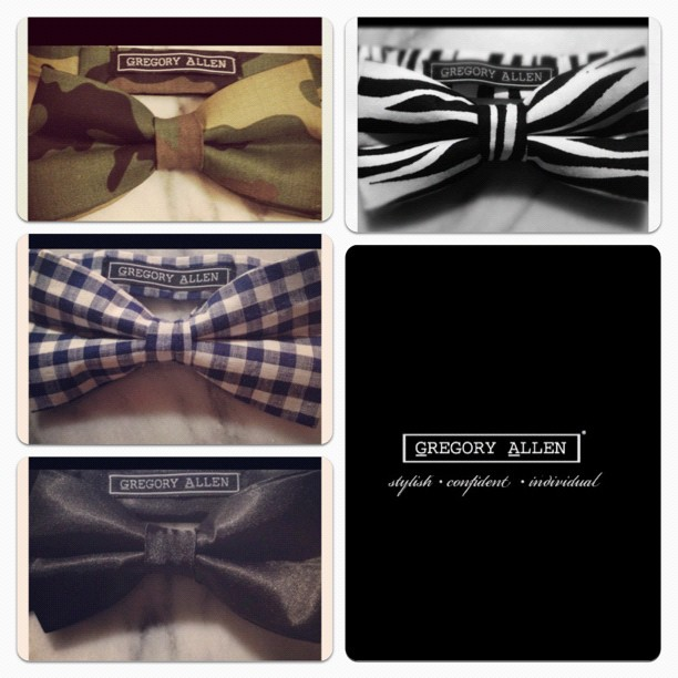 GAC : just delivered these bow ties @yorkdale @bigitup today… #gac #gregoryallencompany #bowtie #yorkdale #bigitup – via Instagram