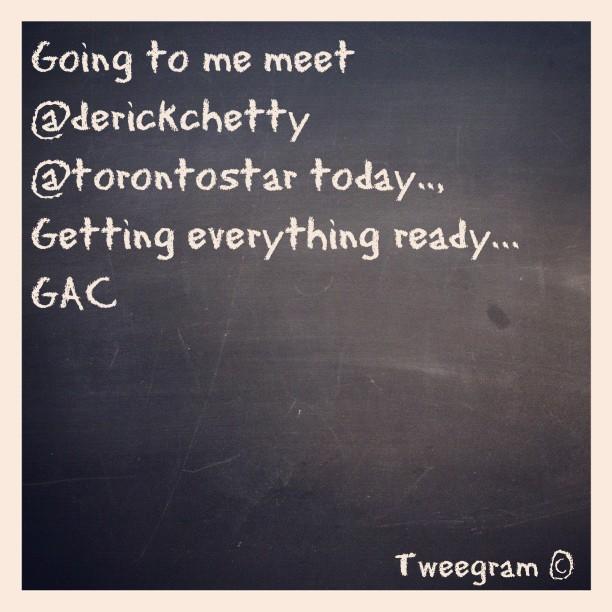 #tweegram #gregoryallencompany #bowtie #gac #torontostar – via Instagram