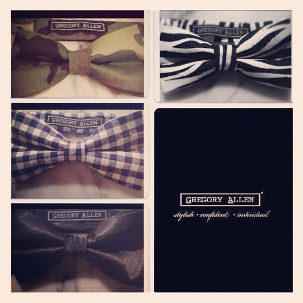 These  bow tie are now available @yorkdale @bigitup * they are going to go fast.. – designed one detail at a time GAC – via Instagram