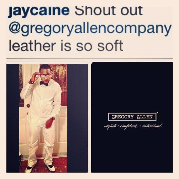 GAC : leather bow tie…. Another happy customer :) #bowtie #gac #gregoryallencompany # – via Instagram