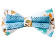 men-aqua-green-tan-bow-tie