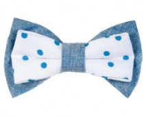 women-light-blue-polka-dots-bow-tie