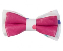 women-multi-color-leather-bow-tie