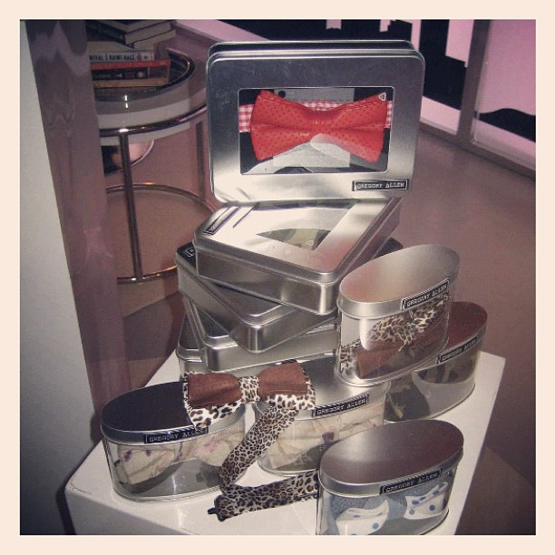 "GAC : George Stroumboulopoulos Tonight ""Made in Canada"" gift lounge for TIFF 2012 #custom #gregoryallencompany #bowtie #menswear #gac #womenswear - via Instagram"