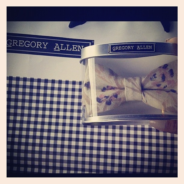 GAC : another happy customer :) #gac #gregoryallencompany #bowtie #womenswear #happy - via Instagram