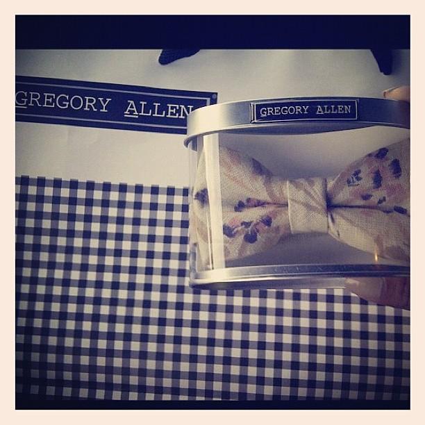 GAC : another happy customer :) #gac #gregoryallencompany #bowtie #womenswear #happy - via Instagram