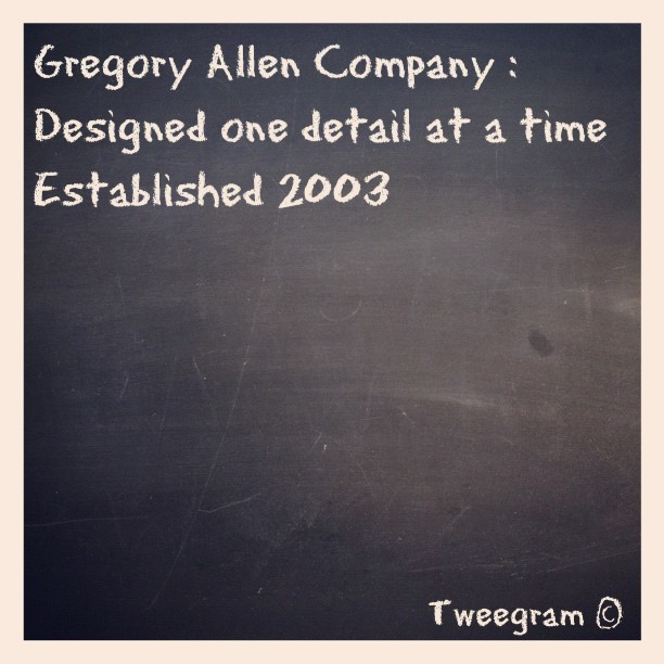 #tweegram #gregoryallencompany #gac - via Instagram