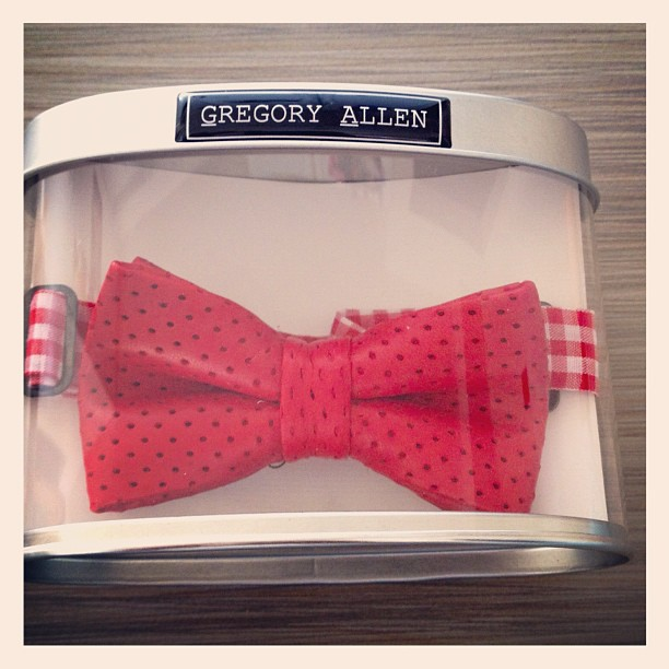 GAC : Boys Red leather bow tie - spring 2012 #boys #spring2013 #bowties #gac #gregoryallencompany #parentingmag #leather - via Instagram