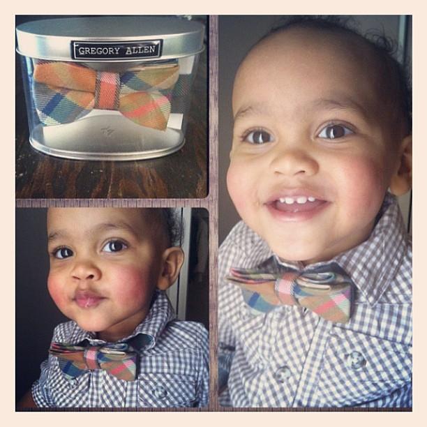 GAC : Bespoke baby bow tie . #gac #gregoryallencompany #bowtie #baby #kids – via Instagram