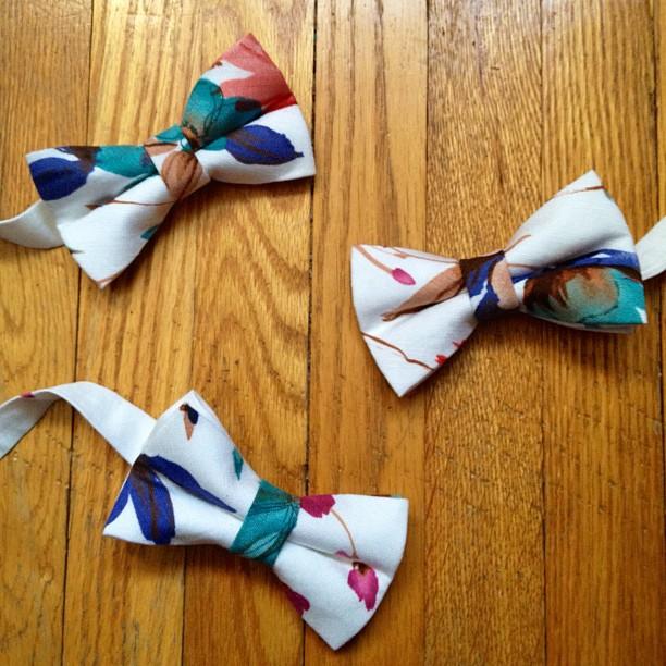 GAC : women bow ties coming soon spring 2013 #flowers #women #gac #gregoryallencompany #bowtie - via Instagram