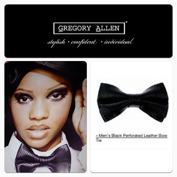 GAC : Classic leather bow tie - www.gregoryallencompany.com #bowtie #men #women #gac #gregoryallencompany - via Instagram