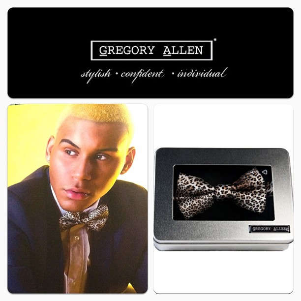 GAC :Men's silk leopard print bow tie - www.gregoryallencompany.com #bowtie #gac #gregoryallencompany #leopardprint #silk #men - via Instagram