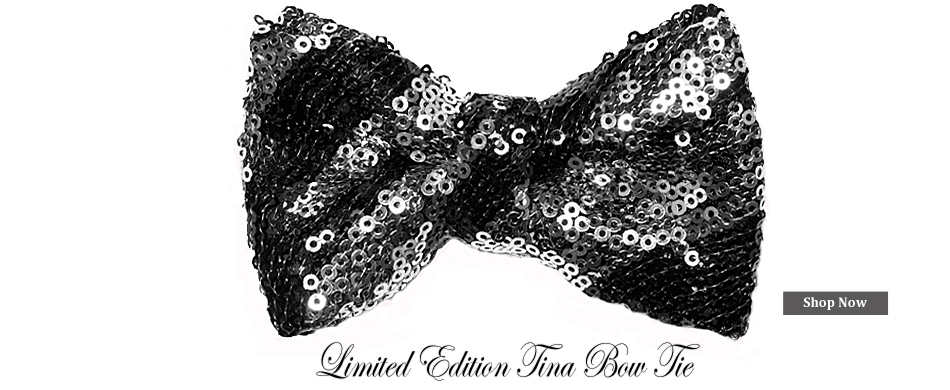 Hero Panel - Limited Edition Tina Bow Tie
