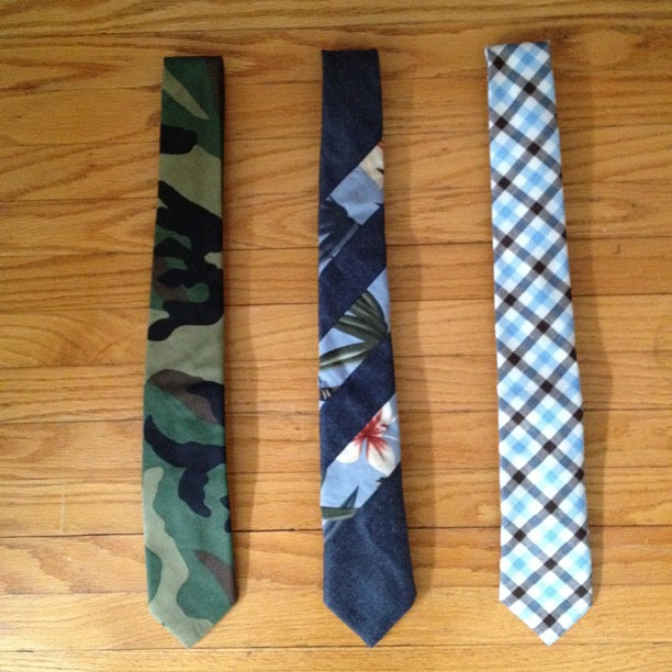 GAC : Coming Soon - New Men's Tie Collection - via Instagram