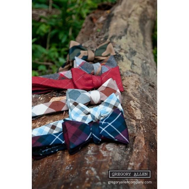 GAC : Rugged Terrain collection – www.gregoryallencompany.com #selftiedbowties #ruggedterraincollection – via Instagram