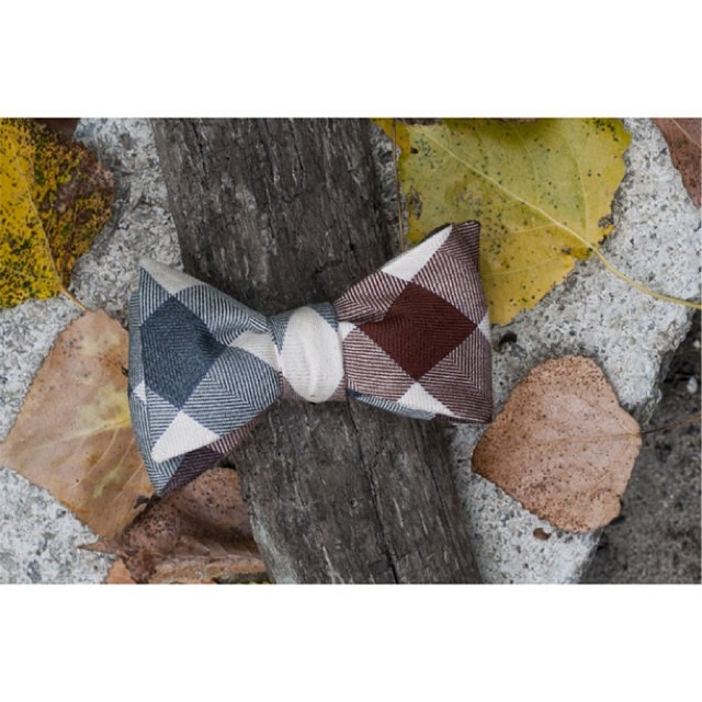 GAC : The Richmond bow tie #ruggedterraincollection #selftiedbowties – via Instagram