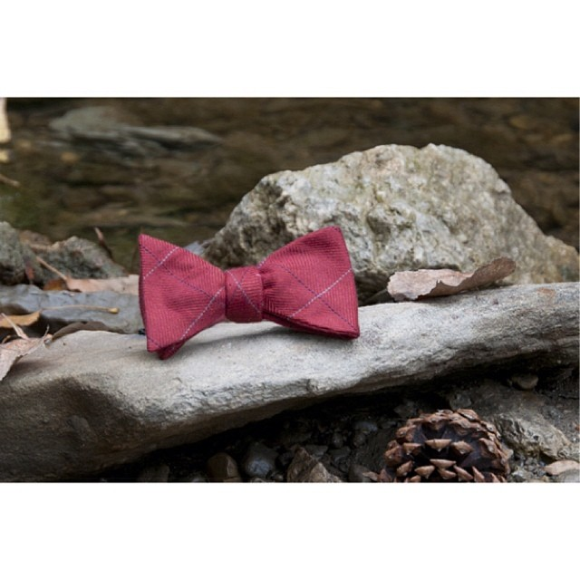 GAC : The Gilford bow tie #ruggedterraincollection #selftiedbowties – via Instagram