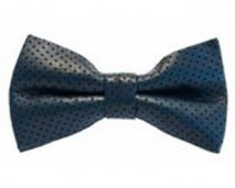 navy leather bow tie - shop page copy