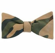 the camo II bow tie