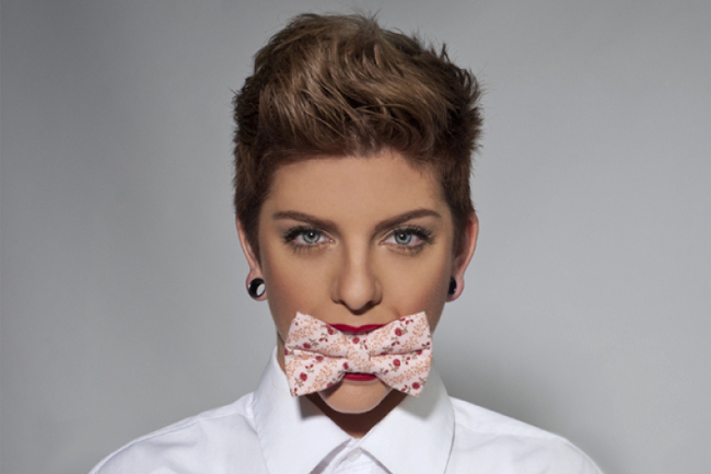 Blog page - Jessica Pink Bow Tie