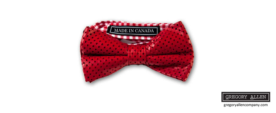 red perf leather bow tie (draft 1) - hero panel copy 2