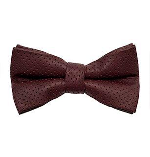 Gilford Burgundy Bow Tie