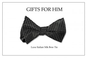 Holiday Bow Tie_ Italian Silk Bow Tie copy