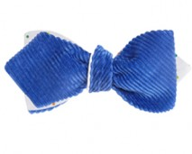 concept collection - the alfred bow tie (royal blue, polka dots) - shop page